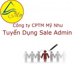 Tuyển nhân viên Sale Admin
