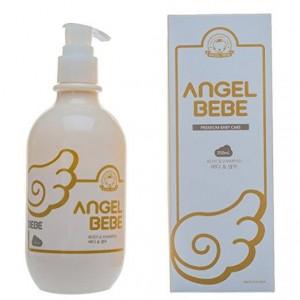 ANGEL BEBE BODY& SHAMPOO – SỮA TẮM,DẦU GỘI ĐẦU CAO CẤP CHO BÉ ANGEL BEBE